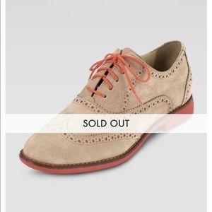 Cole Haan Gramercy Nubuck Oxford Shoe Sz 11